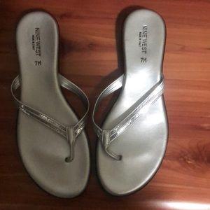 Brand New Nine West Flip Sandals